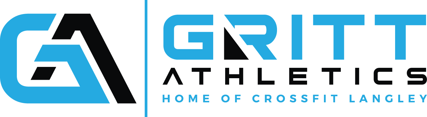 Gritt Athletics Final Logo (Blue & Black)